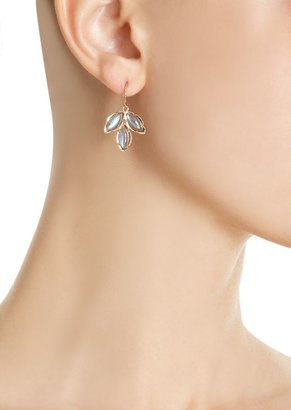 Irene Neuwirth Gemstone Triple Marquise Earrings-Colorless