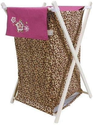Trend Lab Berry Leopard Hamper Set