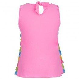 Pate De Sable Pink Sweety Lace Swim Dress