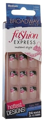 Fashion Express Broadway Nails Instant Style Nails