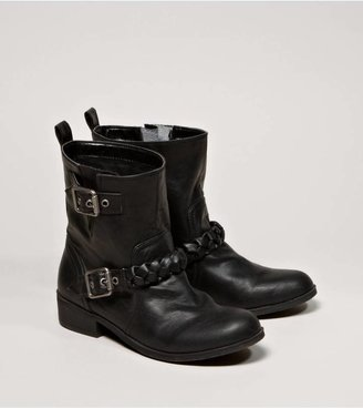 American Eagle AEO Braided Motorcycle Bootie