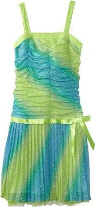 Amy Byer Girls 7-16 Plus-Size Pleated Dress