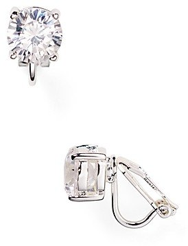 Ralph Lauren Ralph Cubic Zirconia Clip On Earrings, 10mm