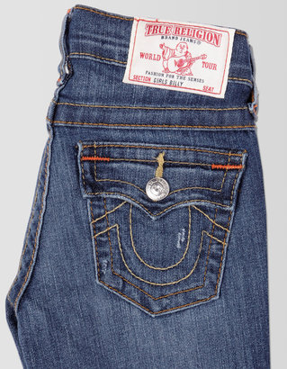 True Religion Billy Straight Girls Jean