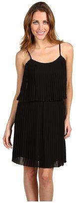 Kensie Sleeveless Tiered Dress (Black) - Apparel