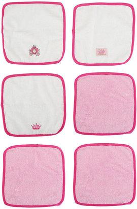 Triboro Quilt Mfg Co Disney Princess 6-Pack Washcloths