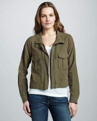 Ella Moss Canvas Zip Jacket