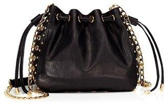 Glam Rock Bedford Leather Mini Bucket Bag