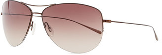 Oliver Peoples Strummer Aviator Sunglasses