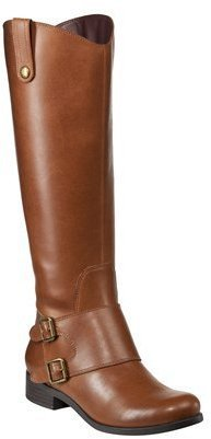 Merona Women's Manette Double Buckle Boot - Tan