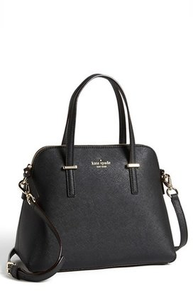 Kate Spade New York 'Cedar Street - Maise' Leather Satchel - Black $298 thestylecure.com