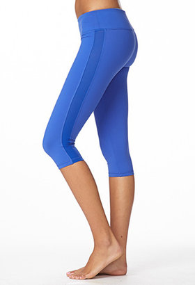 Forever 21 Mesh Paneled Workout Capris