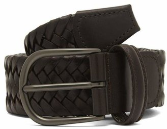 Andersons Anderson's Plain Leather Woven Belt