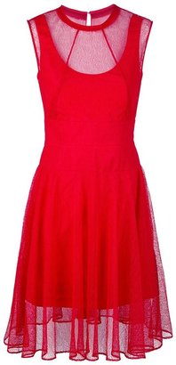 Carven over layer dress