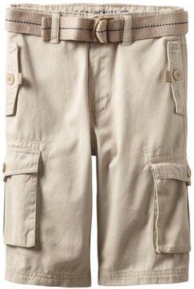 U.S. Polo Assn. Boys 8-20 Washed Cargo Shorts