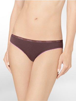 Calvin Klein Logo + Lace-Trim Bikini