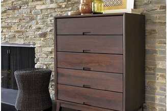 Crate & Barrel Steppe 5-Drawer Chest