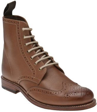 Grenson Ella brogue boot