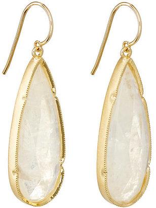 Irene Neuwirth Women's Elongated Teardrop Earrings