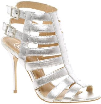 River Island Olivia Caged Heeled Sandals