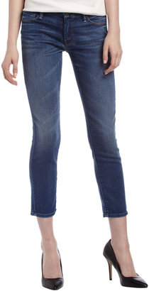 Mother Looker Cropped Skinny Jeans