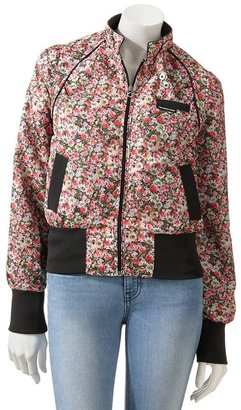 Members only floral bomber jacket