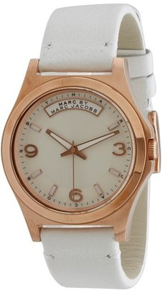 Marc by Marc Jacobs MBM1260 - Baby Dave (Rose Gold/White) - Jewelry