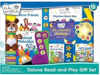 Baby Einstein Disney deluxe read-and-play gift set