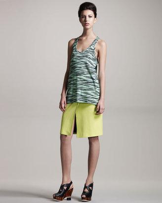 Proenza Schouler Colorblock Skirt