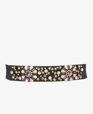 Forever 21 FOREVER 21+ Bejeweled Waist Belt