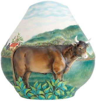 Landscape With Cattle Vase