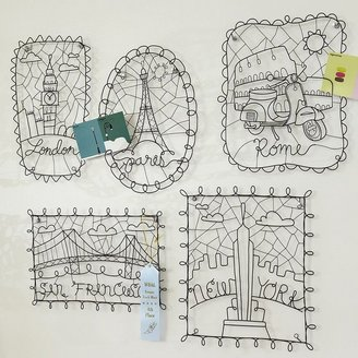 PBteen Wire Decor Cities