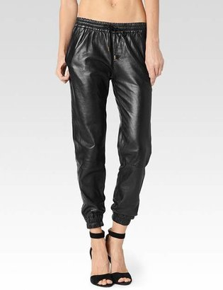 Jadyn Pant - Black Leather $799 thestylecure.com