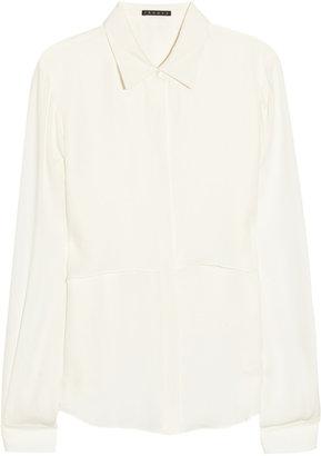 Theory Rosita silk crepe de chine shirt