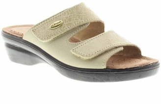 Spring Step Flexus by Quickstep Leather Slide Sandals