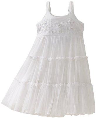 Mimi & Maggie Girls 2-6X Tods Summer Wedding Dress