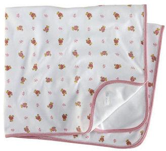 Ralph Lauren Newborn Girls 0-9 Months Bear-Print Receiving Blanket
