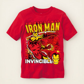 Iron Man invincible graphic tee