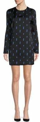 Equipment Lightning Bolt Shift Dress