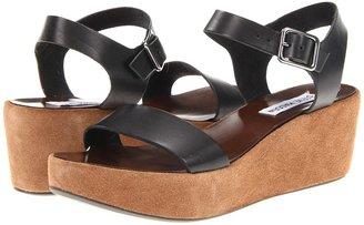 Steve Madden Alisse (Black Leather) - Footwear