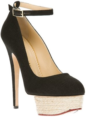 Charlotte Olympia 'Dolores Espadrille' pump