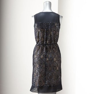 Vera Wang Simply vera lace shift dress - women's
