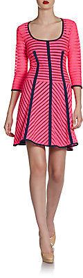 Nanette Lepore 15 Minutes Striped Dress