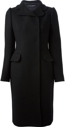 Dolce & Gabbana fitted double breasted coat