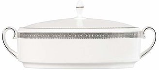 Vera Wang Wedgwood Vera Lace Covered Vegetable Casserole Dish