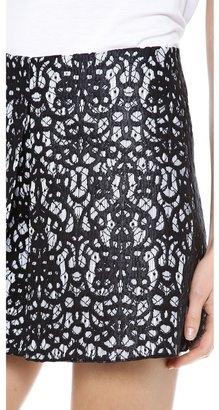 Robert Rodriguez Lace Skirt