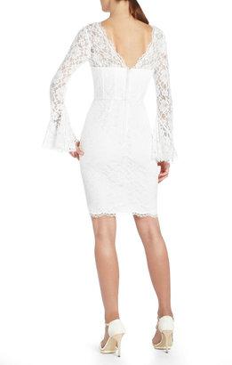 BCBGMAXAZRIA Salina Lace Corset Cocktail Dress