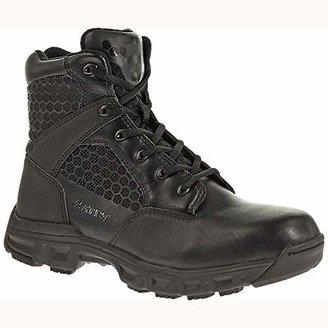 "Bates Footwear Men's Code 6 6"" LEA/Nylon Zip-M"