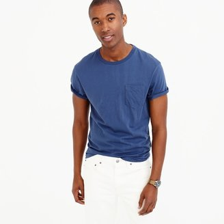 Broken-in pocket T-shirt $24.50 thestylecure.com