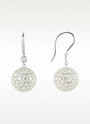 Tagliamonte Colucci Diamonds 16.67 ctw White Gold Diamond Drop Earrings